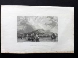 Finden works of Byron C1835 Antique Print. Cagliaria, Sardinia, Italy